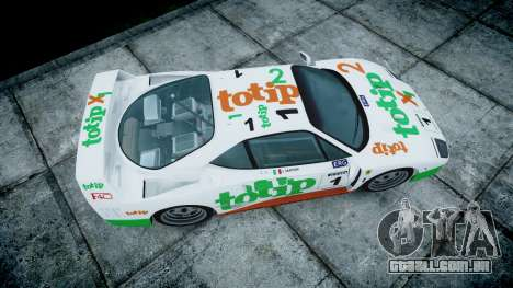 Ferrari F40 1987 [EPM] Jolly Club para GTA 4 vista direita