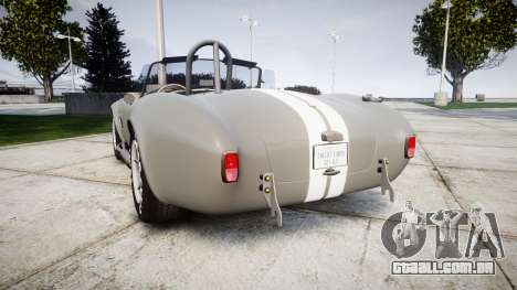 AC Cobra 427 PJ1 para GTA 4 traseira esquerda vista