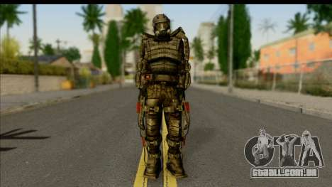Stalkers Exoskeleton para GTA San Andreas