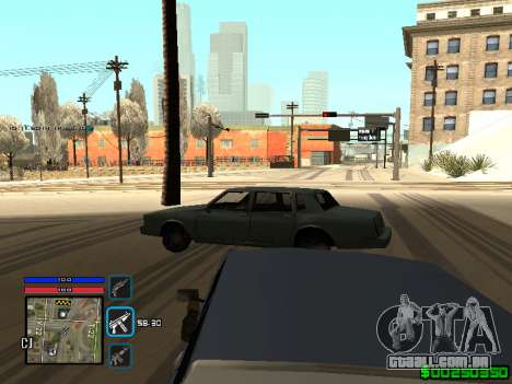 C-HUD Only Ghetto para GTA San Andreas quinto tela