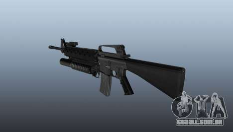 Rifle M16A2 M203 sight1 para GTA 4 segundo screenshot