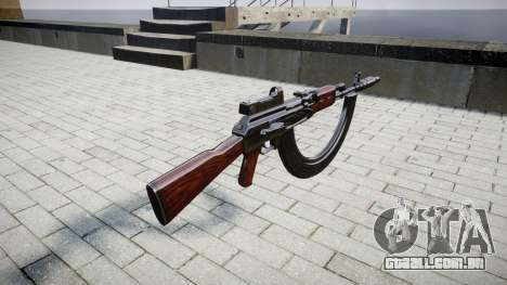 A AK-47 Colimador. Focinho e HICAP para GTA 4 segundo screenshot