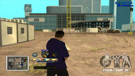 C-HUD Color para GTA San Andreas terceira tela