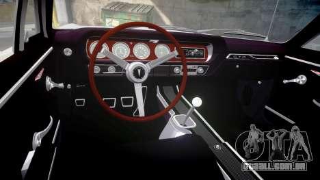 Pontiac GTO 1965 skull para GTA 4 vista interior