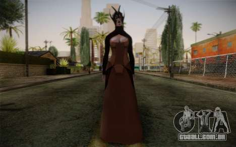 Benezia Beta Final from Mass Effect para GTA San Andreas