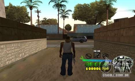 C-HUD Groove Street para GTA San Andreas