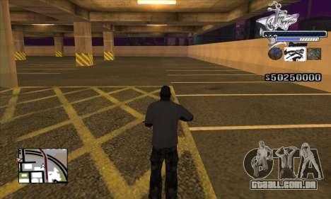 C-HUD Shark para GTA San Andreas terceira tela