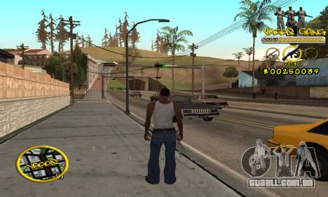 C-HUD Vagos para GTA San Andreas segunda tela