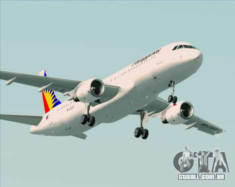 Airbus A320-200 Philippines Airlines para o motor de GTA San Andreas