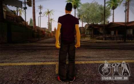 Ginos Ped 28 para GTA San Andreas segunda tela