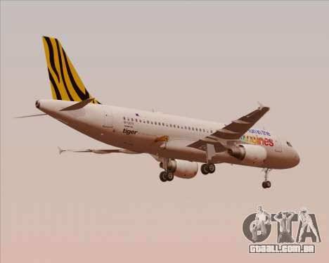 Airbus A320-200 Tigerair Philippines para GTA San Andreas