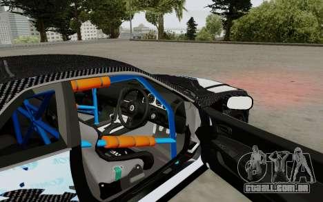 Nissan Skyline GT-R 34 Toyo Tires para GTA San Andreas vista traseira