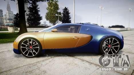 Bugatti Veyron 16.4 v2.0 para GTA 4 esquerda vista