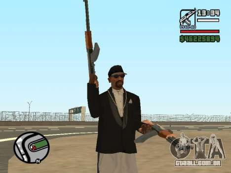 Dupla de posse de todas as armas para GTA San Andreas