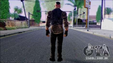 Outlast Skin 2 para GTA San Andreas segunda tela