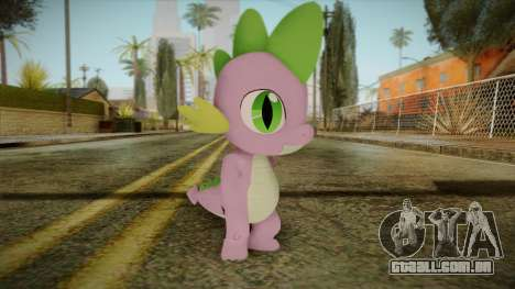 Spike from My Little Pony para GTA San Andreas