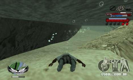 C-HUD by Kir4ik para GTA San Andreas segunda tela