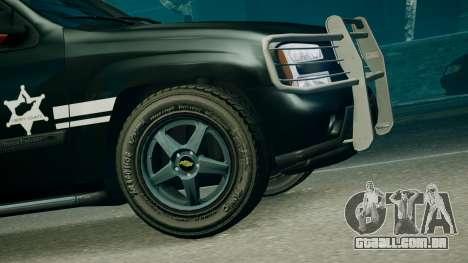 SUV TRBZ para GTA 4 traseira esquerda vista