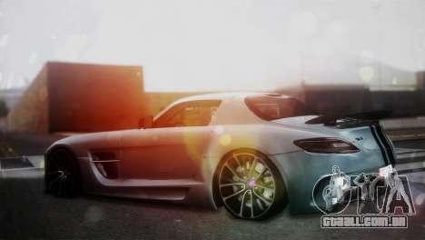 Mercedes-Benz SLS AMG para GTA San Andreas esquerda vista