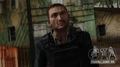 Modern Warfare 2 Skin 20 para GTA San Andreas terceira tela