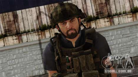 Modern Warfare 2 Skin 12 para GTA San Andreas terceira tela