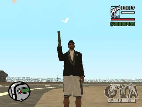 Dupla de posse de todas as armas para GTA San Andreas terceira tela