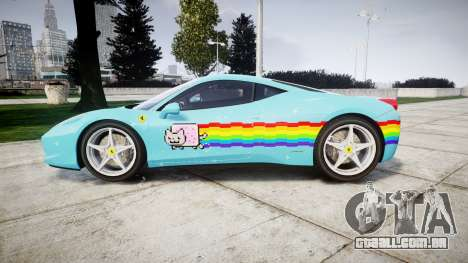 Ferrari 458 Italia 2010 v3.0 Purrari para GTA 4 esquerda vista