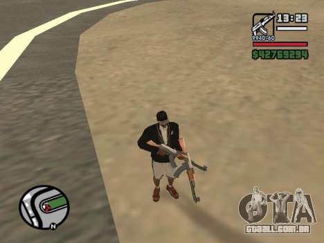 Dupla de posse de todas as armas para GTA San Andreas segunda tela