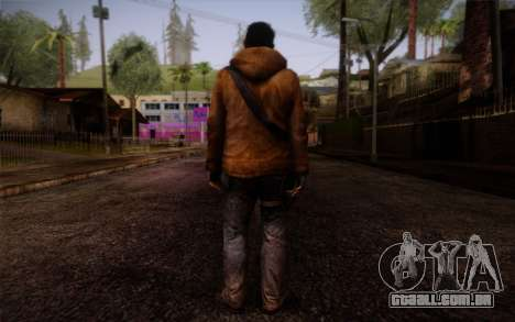 Louis from Left 4 Dead Beta para GTA San Andreas segunda tela