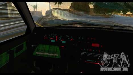 ВАЗ 2113 Postura Nação para GTA San Andreas traseira esquerda vista