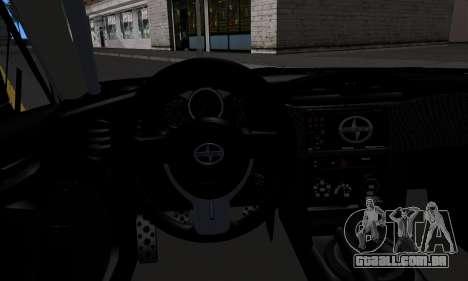 Scion FR-S (IVF) para GTA San Andreas vista direita
