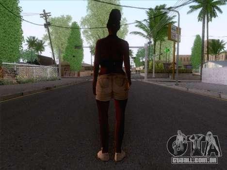 New Ballas Skin 3 para GTA San Andreas segunda tela