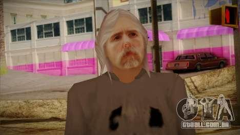Varg Vikernes Skin para GTA San Andreas terceira tela