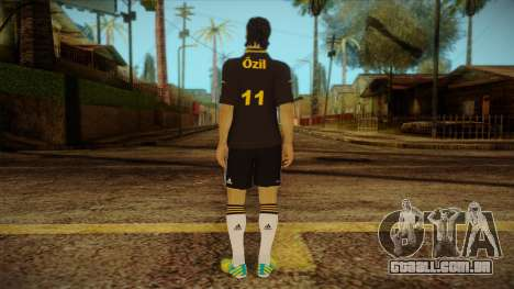 Footballer Skin 4 para GTA San Andreas segunda tela