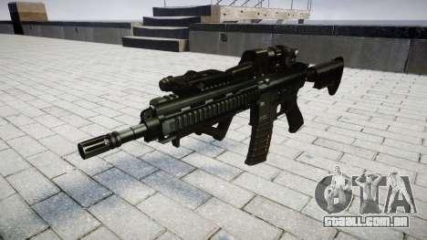 Rifle HK416 CQB alvo para GTA 4