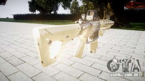 Rifle AR-15 CQB destino typeeotech para GTA 4 segundo screenshot