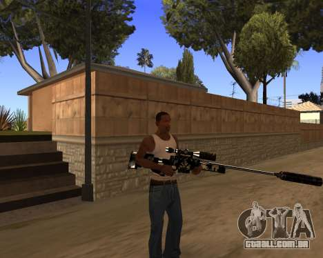 Hitman Weapon Pack v1 para GTA San Andreas por diante tela
