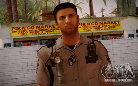 Alex Shepherd From Silent Hill Police para GTA San Andreas terceira tela