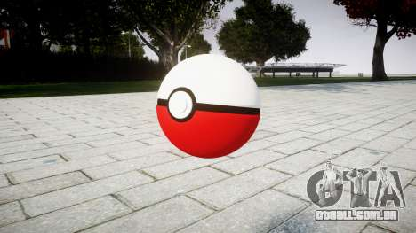 Romã Pokeball para GTA 4 segundo screenshot