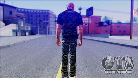 Outlast Skin 3 para GTA San Andreas segunda tela