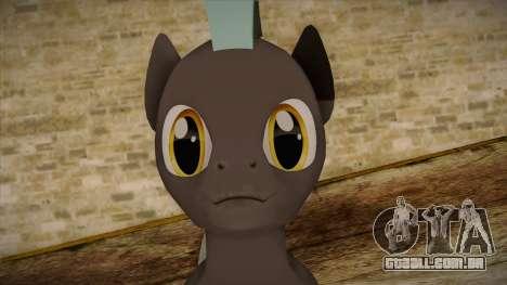 Thunderlane from My Little Pony para GTA San Andreas terceira tela