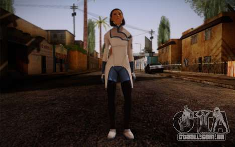 Dr. Eva Sci Fi New Face from Mass Effect para GTA San Andreas