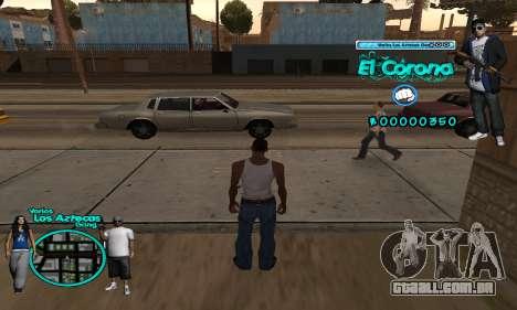 C-HUD Aztec El Corona para GTA San Andreas