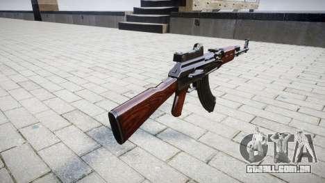 A AK-47 Colimador para GTA 4 segundo screenshot