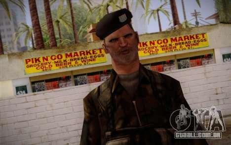 Soldier Skin 2 para GTA San Andreas terceira tela
