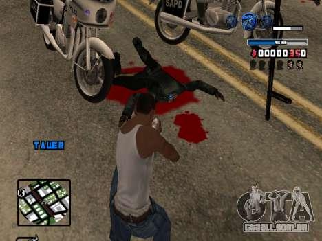 C-HUD Fantastik para GTA San Andreas por diante tela