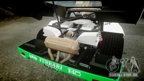 Ferrari F40 1987 [EPM] Jolly Club para GTA 4 vista lateral