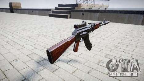 A AK-47 Colimador e o Focinho de freio para GTA 4 segundo screenshot