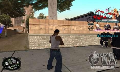 C-HUD Tawer GTA 5 para GTA San Andreas terceira tela