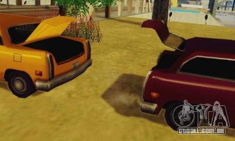 Cabbie Wagon para GTA San Andreas vista direita